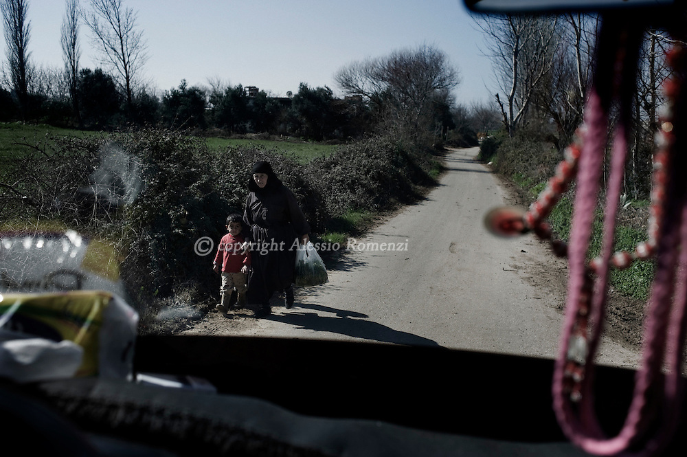 SYRIA. Country side in Homs province on February 05, 2012.  ALESSIO ROMENZI