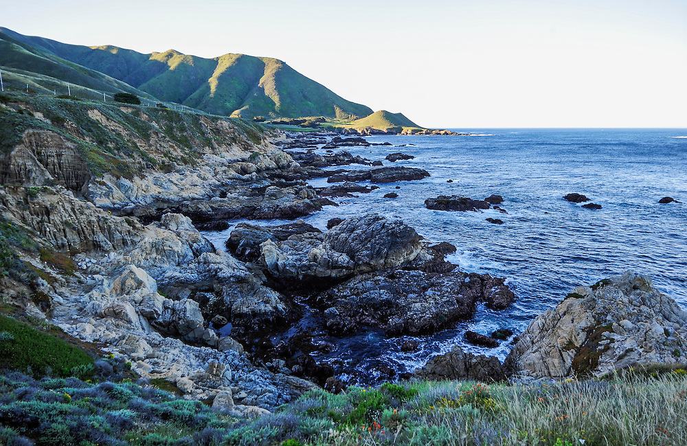 Garrapata State Park is a California State Park located on Highway 1, 6.7 miles south of Carmel and 18 miles north of Big Sur on the Monterey coast, California