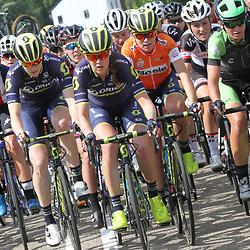 02-09-2017: Wielrennen: Boels Ladies Tour: Vaals: Jessica Allen: Sarah Roy: Annemiek van Vleuten