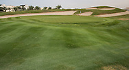 4th green at The Address Montgomerie Golf Club, Dubai, United Arab Emirates.  27/01/2016. Picture: Golffile | David Lloyd<br /> <br /> All photos usage must carry mandatory copyright credit (© Golffile | David Lloyd)