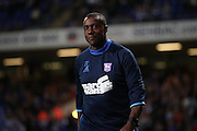 Ipswich Town assistant manager Terry Connor during the EFL Sky Bet Championship match between Ipswich Town and Brighton and Hove Albion at Portman Road, Ipswich, England on 27 September 2016.