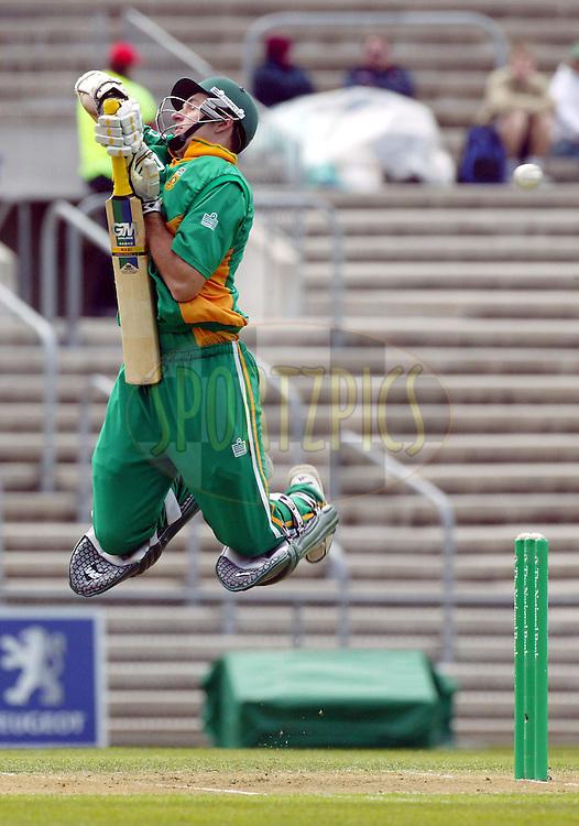 25 February, 2004. Carisbrook, Dunedin, New Zealand. ODI Series. New Zealand v South Africa..Graeme Smith..Pic: Barry Bland/Photosport