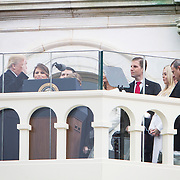 Donald J. Trump takes the oath of office to be sworn in as the 45th President of the United States, January 20, 2017.  John Boal Photography