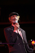 Gil Scott Heron at Gil Scott-Heron Produced by Jill Newman Productions and held at BB King on November 4, 2009 in New York City