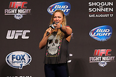 August 16, 2013: Ronda Rousey Fan Club Q&A