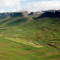 Brúarland séð til austurs, Hofshreppur / Bruarland viewing east, Hofshreppur.