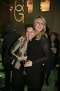 Kate Wright-Morris and Ruth Cairns, Colman Getty's 20th Birthday party. The Imagination Gallery. Store St. London W1. 17 January 2006.  -DO NOT ARCHIVE-© Copyright Photograph by Dafydd Jones. 248 Clapham Rd. London SW9 0PZ. Tel 0207 820 0771. www.dafjones.com.