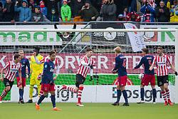 Michiel Kramer of Sparta Rotterdam during the Dutch Eredivisie match between Sparta Rotterdam and Ajax Amsterdam at the Sparta stadium Het Kasteel on March 18, 2018 in Rotterdam, The Netherlands