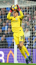 Ederson of Manchester City - Mandatory by-line: Alex James/JMP - 18/11/2017 - FOOTBALL - King Power Stadium - Leicester, England - Leicester City v Manchester City - Premier League