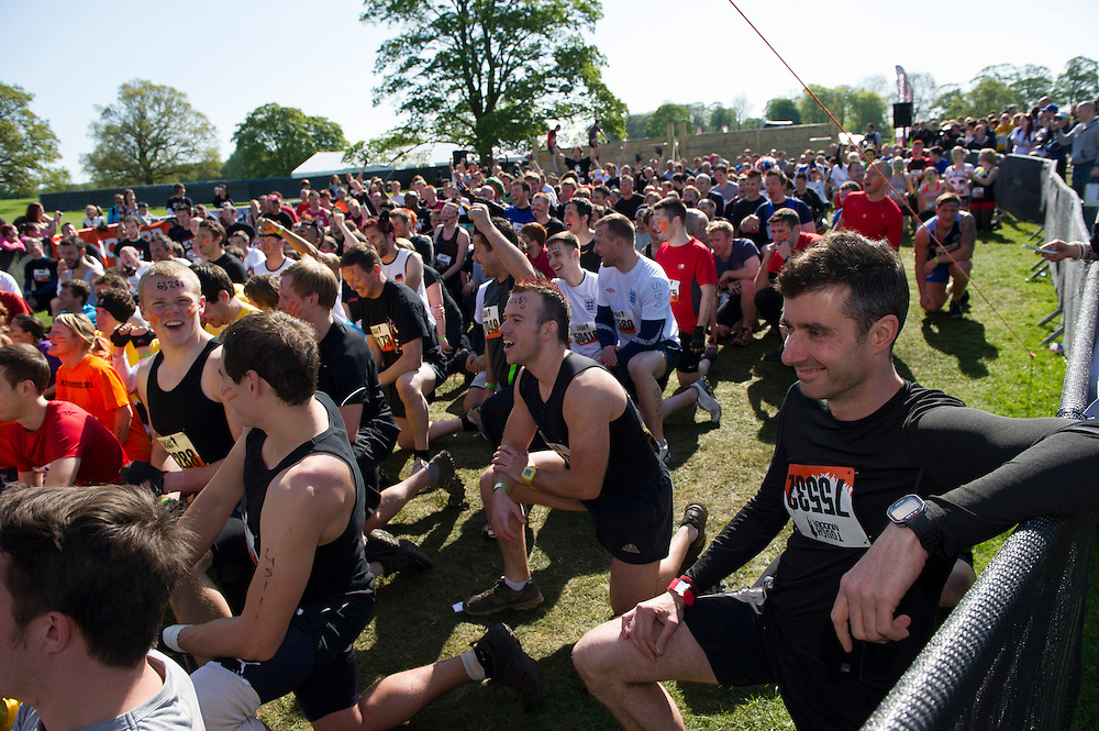 Tough Mudder - May 2012 - Northamptonshire - Race Start