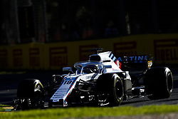 March 23, 2018 - Melbourne, Victoria, Australia - STROLL Lance (can), Williams F1 Mercedes FW41, action during 2018 Formula 1 championship at Melbourne, Australian Grand Prix, from March 22 To 25 - Photo  Motorsports: FIA Formula One World Championship 2018, Melbourne, Victoria : Motorsports: Formula 1 2018 Rolex  Australian Grand Prix, (Credit Image: © Hoch Zwei via ZUMA Wire)