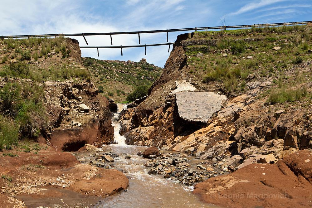 10 February 2011, Ha Sekake Clinic, Qacha's Nek District, Lesotho.
