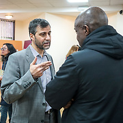 London, UK. 05th February, 2017. Mohammed Kozbar, Vice-President of the Muslim Association of Britain and Chairman of Finsbury Park attends Visit My Mosque Open Day. Photo by See Li