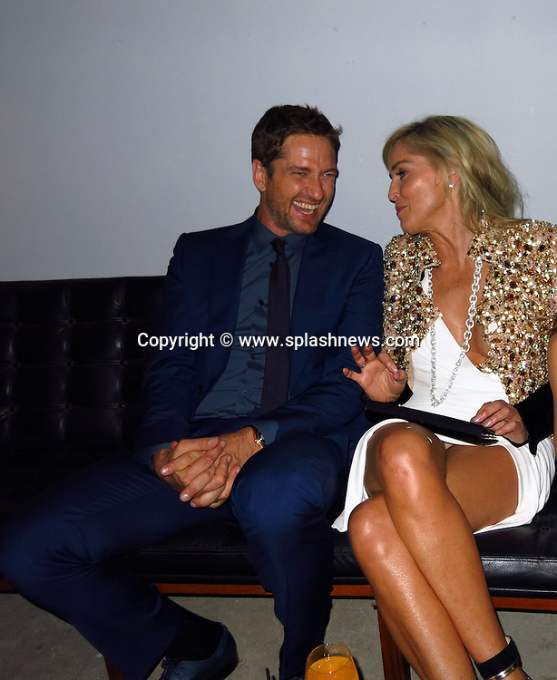 EXCLUSIVE: Ermenegildo Zegna after party at JF Chen Gallery in Hollywood, CA.<br />