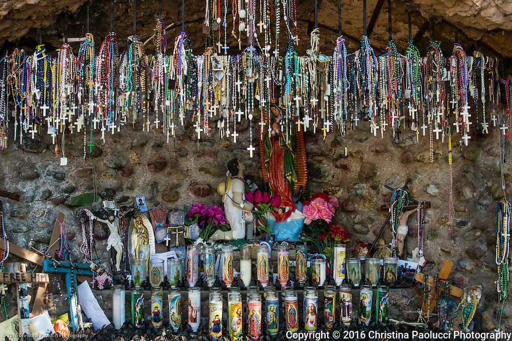 Santuario De Chimayo chapels along the high road to Taos (Christina Paolucci, photographer).