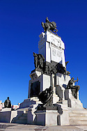 Antonio Maceo Monument on the Malecon in Havana, Cuba.