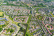 Nederland, Gelderland, Zutphen, 29-05-2019; De wijk Leesten, zuidoost Zutphen.<br /> New neighbourhood, Zutphen<br /> <br /> luchtfoto (toeslag op standard tarieven);<br /> aerial photo (additional fee required);<br /> copyright foto/photo Siebe Swart