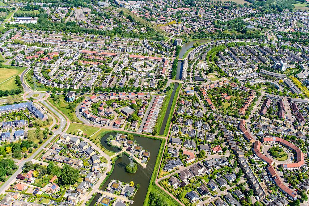 Nederland, Gelderland, Zutphen, 29-05-2019; De wijk Leesten, zuidoost Zutphen.<br /> New neighbourhood, Zutphen<br /> <br /> luchtfoto (toeslag op standard tarieven);<br /> aerial photo (additional fee required);<br /> copyright foto/photo Siebe Swart