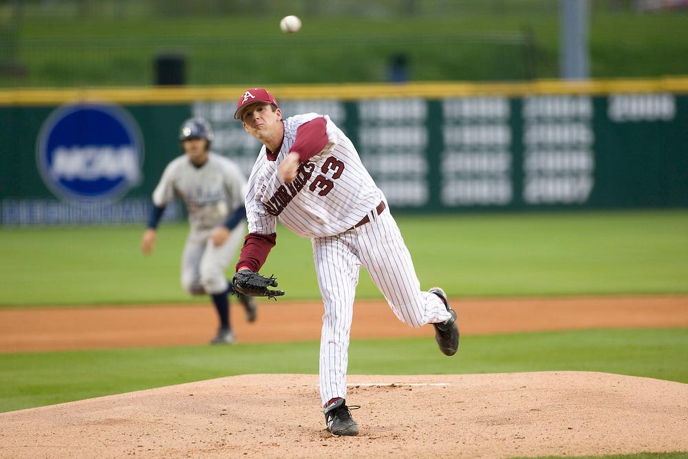 Arkansas Razorback 2009 Baseball Team...©Wesley Hitt.All Rights Reserved.501-258-0920.