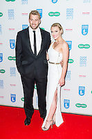 Chris Robshaw and Camilla Kerslake,Guide Dog of the Year Awards and Charity Ball, London Hilton, Park Lane, London UK, 11 December 2013, Photo by Raimondas Kazenas