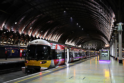 UK ENGLAND LONDON 26MAR14 - Heathrow Express train at Paddington train station, central London.<br /> <br /> jre/Photo by Jiri Rezac<br /> <br /> © Jiri Rezac 2014