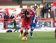 Crawley Town Forward Matt Harrold during the Sky Bet League 2 match between Crawley Town and Notts County at the Checkatrade.com Stadium, Crawley, England on 16 January 2016. Photo by David Charbit.