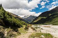 The Caucasus Mountains near Svaneti