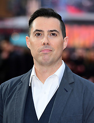 Director Brad Peyton attending the European premiere of Rampage, held at the Cineworld in Leicester Square, London