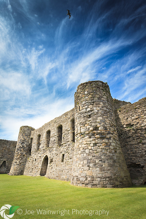 The Keep, at Beaumaris Castle, was intended to be the most impregnable part of the fortress.