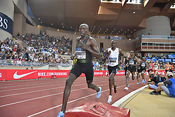 2018?7?21?.    ????????——??????????????.    7?20???????Timothy Cheruiyot????.    ??????????????????1500????? .    7?20???????Timothy Cheruiyot?3:28.41????????.    ?????????... (SP)MONACO-FONTVIEILLE-ATHLETICS-IAAF-DIAMOND LEAGUE..(180721) -- FONTVIEILLE, July 21, 2018  Timothy Cheruiyot of Kenya competes during the men's 1500m match of the IAAF Diamond League competitions in Fontvieille, Monaco on July 20, 2018.  Timothy Cheruiyot claimed the title with  3:28.41. (Credit Image: © Chen Yichen/Xinhua via ZUMA Wire)