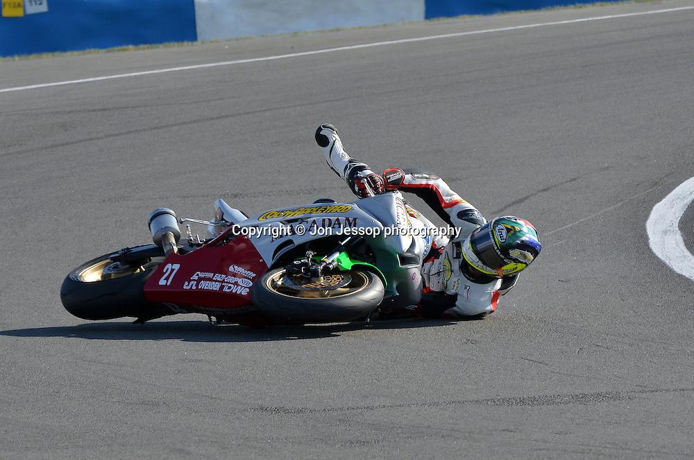 #27 Bjorn Estment Team Colin Appleyard/Macadam Yamaha British Supersport