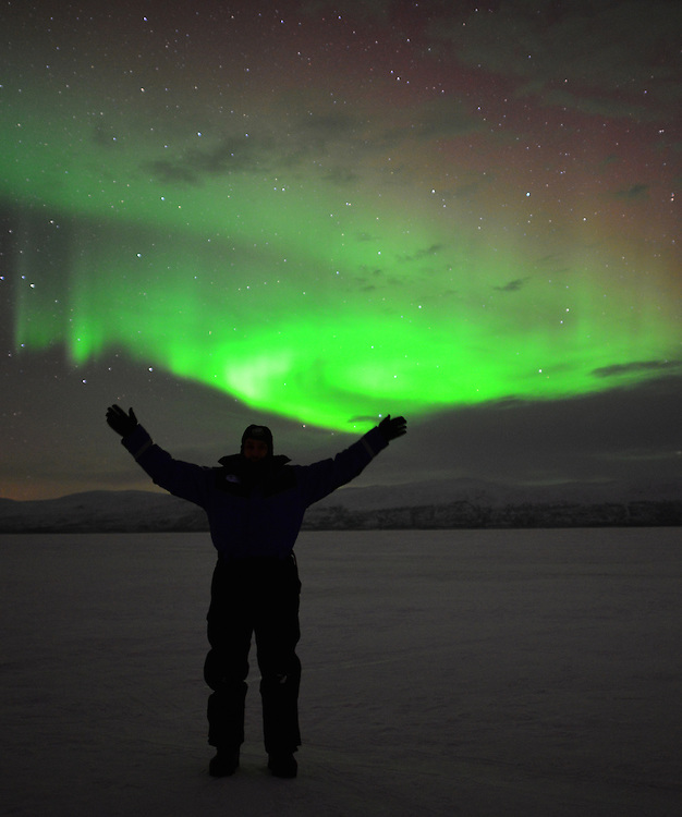 I spent many awe-filled hours standing on Lake Torneträsk, watching the Lights dance.