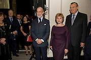 PRINCE MICHAEL OF KENT; Elena Gagarina; YURY VIKTOROVICH FEDETOV. Magnificence Of The Tsars - exhibition<br />