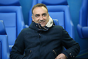 Sheffield Wednesday head coach Carlos Carvalhal  during the Sky Bet Championship play-off first leg match between Sheffield Wednesday and Brighton and Hove Albion at Hillsborough, Sheffield, England on 13 May 2016. Photo by Simon Davies.