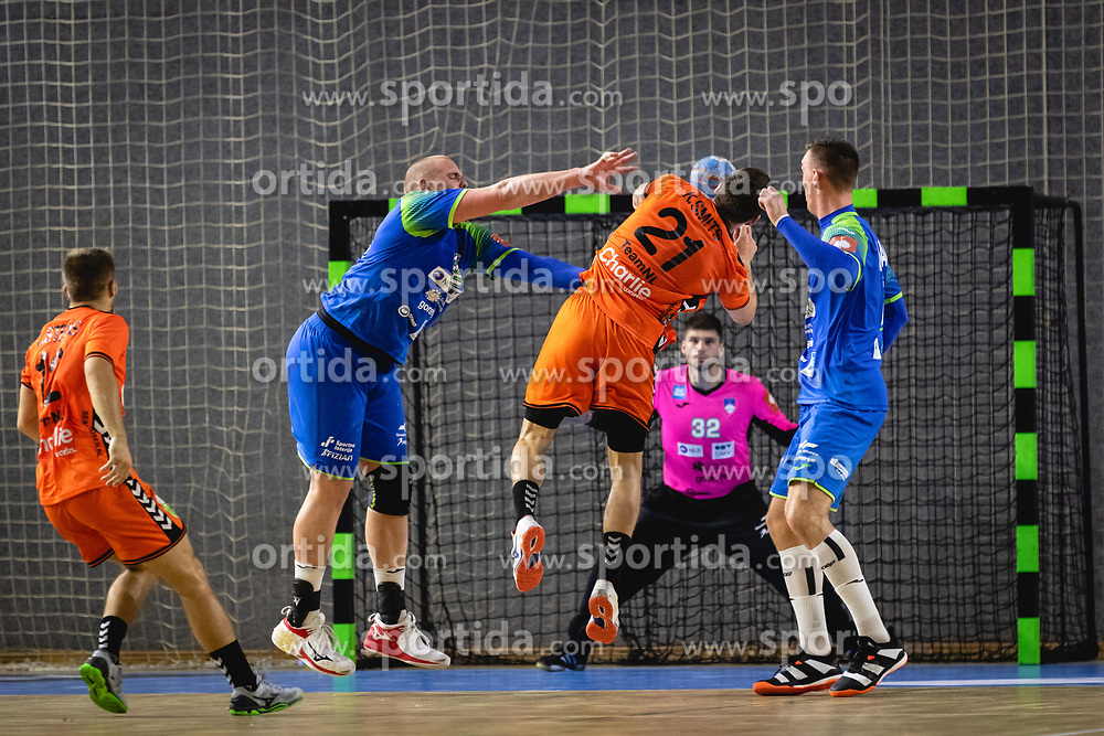 during friendly handball match between Slovenia and Nederland, on October 25, 2019 in Športna dvorana Hardek, Ormož, Slovenia. Photo by Blaž Weindorfer / Sportida