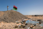 Fighters in Ras Lanouf, Libya