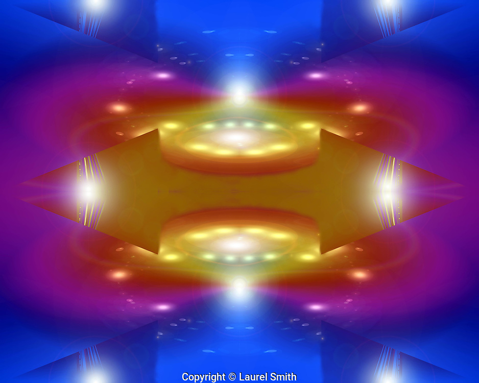Light Portal To Sirius #25 ~ © Laurel Smith