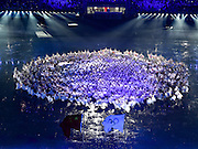 16.08.2014. Nanjing, China. Artists perform during the opening ceremony of Nanjing 2014 Youth Olympic Games in Nanjing, capital of east Chinas Jiangsu Province, Aug. 16, 2014.
