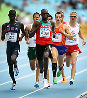 Athletics - World Championships 2011 - Daegu - Day One<br /> <br /> World record holder David Lekuta Rudisha of Kenya competes in the heats of the Mens 800m during day one of The Athletics World Championships in Deagu, South Korea on 27th August 2011.<br /> <br /> Ian MacNicol/Colorsport
