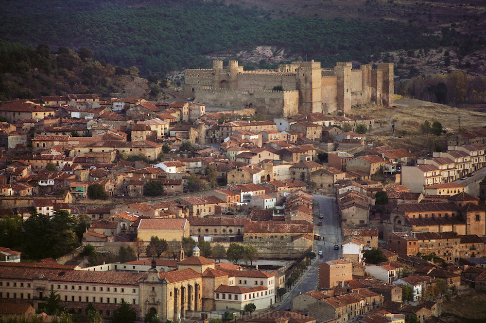 The castle above the town of Siguenza, Spain.
