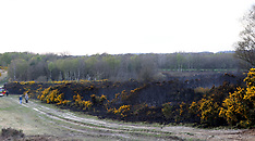 Yateley Common Fire