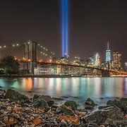 NYC Tribute in Light - 9/11 Memorial