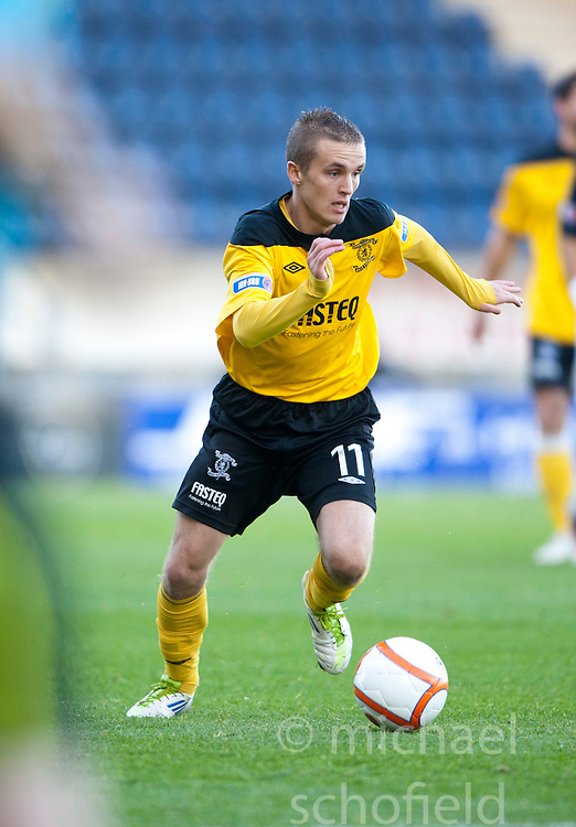 Livingston's Marc McNulty..Falkirk 4 v 3 Livinston, 5/11/2011..Pic © Michael Schofield.