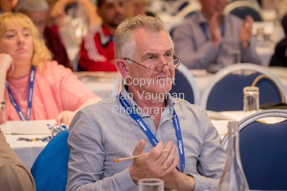 1-6-17<br />  <br /> Declan Mulhare, Laois pictured at the IMPACT Health and Welfare Division Conference in Wexford.<br /> Picture Dylan Vaughan.