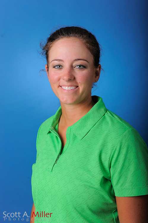 Kendall Dye during a portrait session prior to the second stage of LPGA Qualifying School at the Plantation Golf and Country Club on Sept. 24, 2011 in Venice, FL...©2011 Scott A. Miller