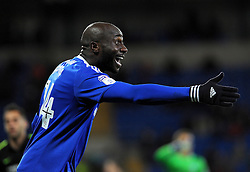 Souleymane Bamba of Cardiff City shows his frustration - Mandatory by-line: Nizaam Jones/JMP - 03/12/2016 -  FOOTBALL - Cardiff City Stadium - Cardiff, Wales -  Cardiff City v Brighton and Hove Albion - Sky Bet Championship
