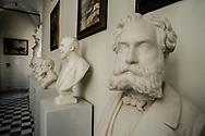 Into the fine art academy of Carrara