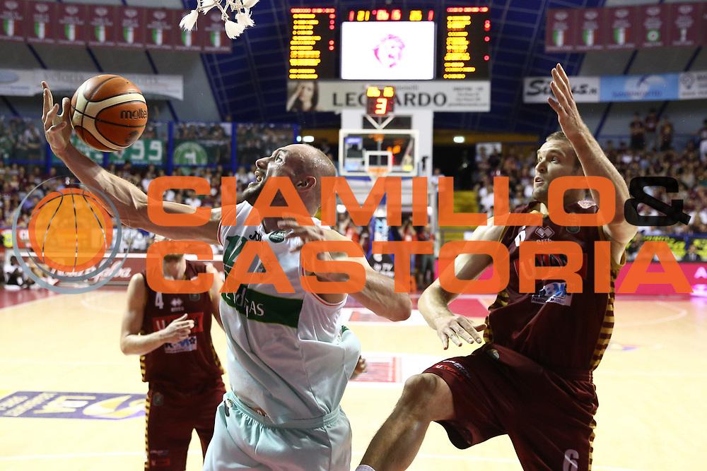 Cusin Marco<br /> Umana Reyer Venezia vs Sidigas Avellino<br /> Lega Basket Serie A 2016/2017<br /> Play Off SemiFinali Gara 1<br /> Venezia,26/05/2017<br /> Foto Ciamillo-Castoria/A. Gilardi