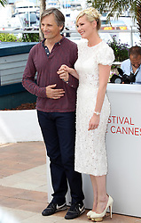 Viggo Mortensen and Kirsten Dunst at the Cannes Film Festival for their new film On The Road, Wednesday, 23rd  May 2012. Photo by: Stephen Lock / i-Images