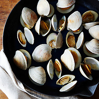 Roasted Clams with Hot Sauce